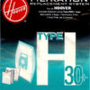 EMBALAGEM SACOS HOOVER –  H30+ TELIOS/ARIANNE